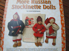 10pg Russian Stockinette Doll History ARticle MORE OF w/ Paper Doll