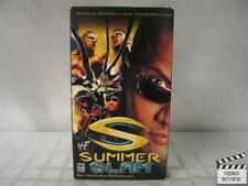 WWF Summerslam 2000 VHS The Rock, Triple H, Kurt Angle