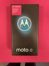"Motorola Moto E (2020) - 32gb - 6.2"" - Blue - T-Mobile - Brand New (Sealed)"