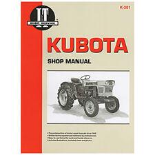 Shop Manual Collection I&T K-201 For Kubota L245 L260 L275 L285 L295 L305 L345