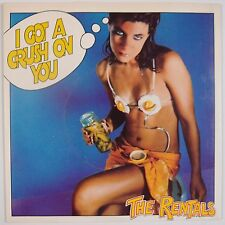 THE RENTALS: I Got A Crush On You UK 45 w/ PS Beggars Banquet SUPER NM-