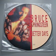 Bruce Springsteen Better Days Mint Picture Disc With Mint Sleeve
