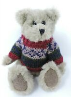 """Boyds Sven Teddy Bear 8"""" Jointed Plush Wearing Sweater Archive Collection"""