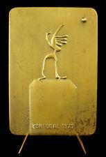 Médaille Championnat européen de Golf 1973 Portugal Charters Almeida 313g medal