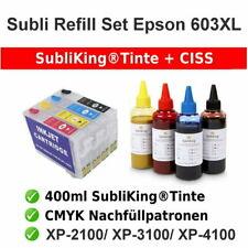 Sublimation Refill CISS Startpaket 603XL Epson® XP-2100 | XP-3100 | XP4100