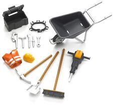 Bruder Toys Bworld Building Site Accessories. Bruder construction toys 62001