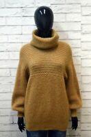 LUISA SPAGNOLI Pullover Donna Taglia L Maglione Maglia Cardigan Sweater Lana
