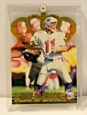Drew Bledsoe 1996 Pacific Trading Card Collection Gold Foil in Plastic Case