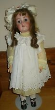 "Antique 24"" K * R Kammer Reinhardt Simon Halbig bisque Doll on BJ Compo body"