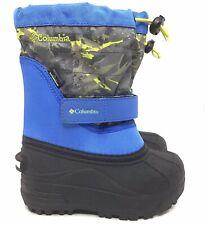 Columbia Toddler Powderbug Plus II Snow Boots Size 10c/