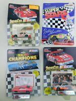 Matchbox & Racing Champions 1:64 NASCAR Lot Of  4 Die Cast Diecast Vintage B16