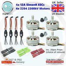 4x 12A SimonK ESC + 4x 2204 2300KV Motor Brushless + 20pcs Props - Quadcopter
