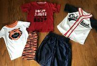 Nike Boys Size 6 Shirts OshKosh Tops Shorts PJ's Kids Clothing Lot Summer