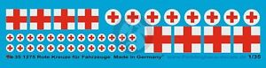 Peddinghaus 1/35 Red Cross Markings for Vehicles and Ambulances (2 types) 1275