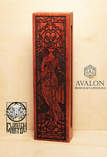 Avalon - RPG Dice & Pencil Box - Brazilian Cherry (Jatoba)