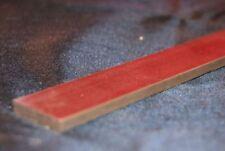 longitud de acero templado Barra Plana en3b-1/8 Grueso x 2.5cm Ancho 300mm