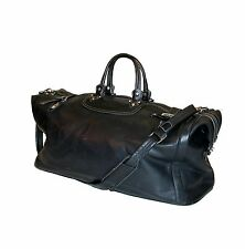 """Samsonite® Leather 25"""" Outdoor Travel / Gym /Large Cabin Duffle Bag"""