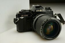 Vintage Minolta X-700 35mm SLR Film Camera with 28-85mm F/3.5-4.5 Zoom Lens