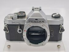 Asahi Pentax MX 35mm Film PK Lens Mount SLR Camera Body Only - Chrome *Read*