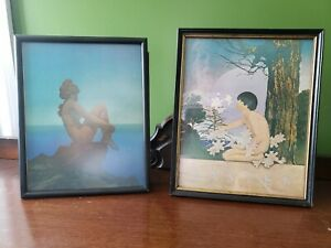 Maxfield Parrish 1905 Collier's Magazine Art Framed The Easter and Stars