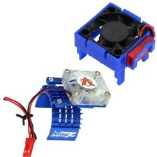 Powerhobby Traxxas Velineon VXl-3 ESC Cooling Fan + 540 Motor Fan COMBO Blue