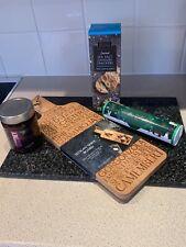 food hamper gift set crackers chutney after 8 mints & slogan serve paddle board