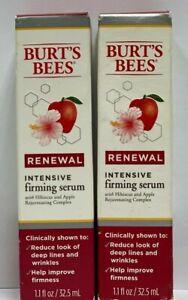 Burt's Bees Renewal Intensive Firming Serum with Bakuchiol Natural Retinol Alter
