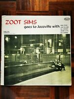 """ZOOT SIMS """"ZOOT SIMS GOES TO JAZZVILLE"""" / DOWN DLP-1115 /MONO/ 1st PRESSING"""