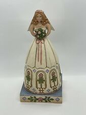 """Jim Shore Heartwood Creek """"From This Day Forward"""" Bride Wedding Figurine 4007235"""