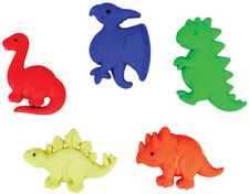 Dino Pets Novelty Buttons/DIY Sewing suppls/Plastic Buttons/Kids Craft Suppls