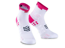 Compressport calcetines ProRacing v3.0 Run Hi Ironman 2017 Rosa T2