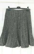 Hobbs wool mix lined flared skirt size 12