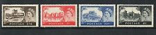 GB 1959 2nd de la rue castles set SG595-598 lightly mounted mint set stamps