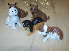 SET OF 6 DOG CAKE DECORATION