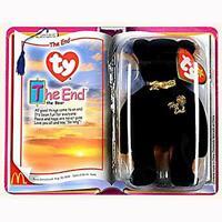 The End Bear McDonalds 2000 Ty Teenie Beanies Happy Meal MINT NIP SEALED