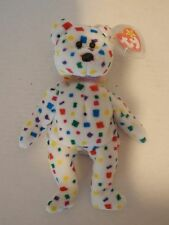 "TY Beanie baby ""Ty 2K"" Bear Rare  two errors"