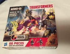Kre-O Transformers Age of Extinction Dinobot Charge Set*New*