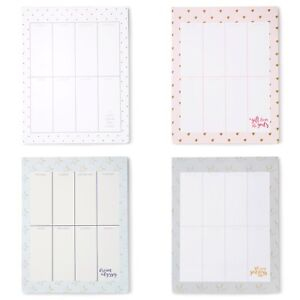 Weekly Journal Desk Planner Stationery Notepad