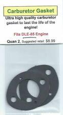 DLE-85 Carburetor/Intake Gasket 2 Pack NIP