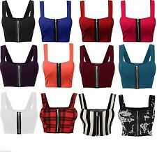 Unbranded Women's Strappy, Spaghetti Strap Cropped Tops & Shirts