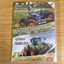 AGRICULTURAL SIMULATOR COMPLETE (PC-DVD) BRAND NEW SEALED DOUBLE PACK