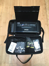 Epson WorkForce WF-110 WIFI Rechargeable Portable Color Inkjet Printer COMPLETE!