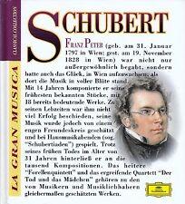 La gran musica: Schubert-la morte e la ragazza.../Libro con CD-NUOVO