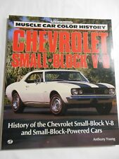Muscle Car Color History Chevrolet Small Block V-8  New , Out of Print