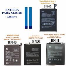 Bateria BN41 BN43 BN31 BN45 Xiaomi Redmi Note 4X Prime Mi A1 5X Note 5A Y1 Lite