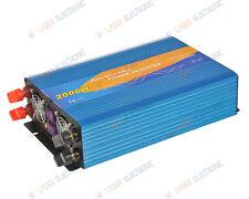 INVERTER ONDA SINUSOIDALE PURA 2000W 12VDC USCITA 220V con REMOTE CONTROL