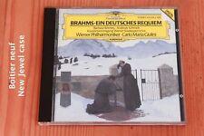Brahms - Un Requiem Allemand - Carlo Maria Giulini - CD Deutsche Grammophon