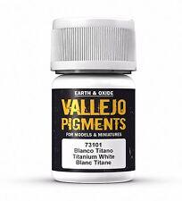 Vallejo Pigment Titanium White 30ml - 73101