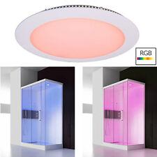 Trousse Luminaire Encastré Panneau Mince 24V LED 16W RGB Lumière Chromothérapie