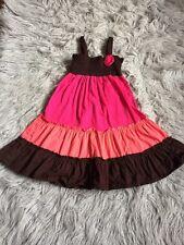 Size 5T Pinky Dress Smocked Euc